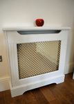 hand painted radiator cover
