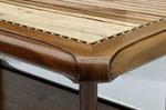hand polished coffee table
